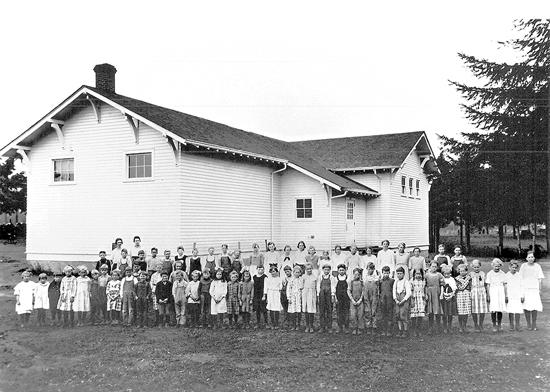 Loyal Heights School, 1920-1921 school year